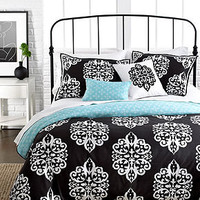 Sunset and Vines Dalton 5 Piece Comforter and Duvet Cover Sets - Bed in a Bag - Bed & Bath - Macy's