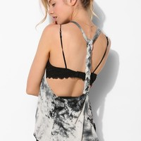 Staring At Stars Tie-Dye T-Strap Tank Top - Urban Outfitters