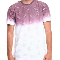 Ombre Rip & Tear Tee by Buyers Picks