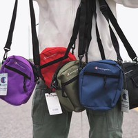 Champion Canvas Shoulder Bag Crossbody Satchel
