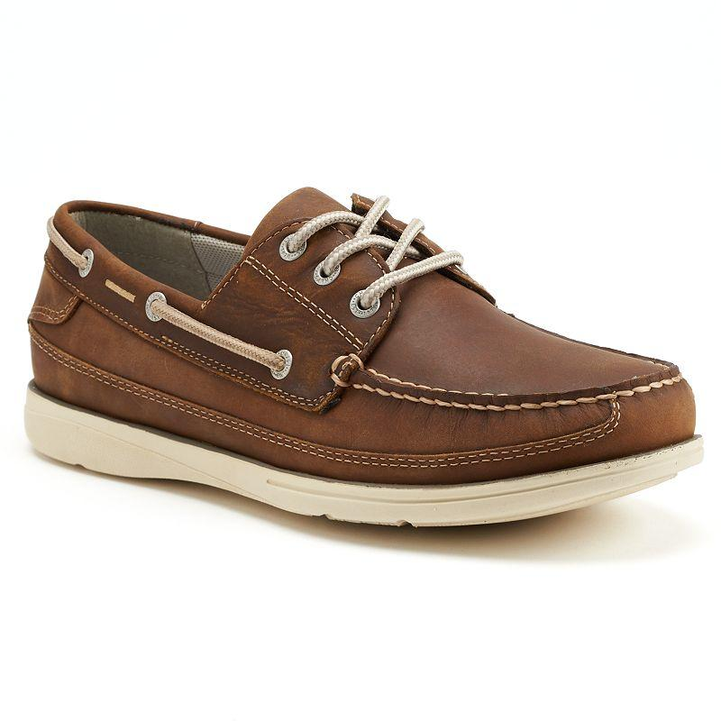 Keep it cool & casual with these boat shoes by Boca Classics! Harbor boat shoes feature memory foam insoles, slip-resistant outsoles & an easy slip on design with a self-adhesive closure.