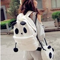 Kawaii Panda Backpack