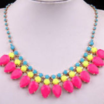 """""""Neon Tribal"""" Necklace"""