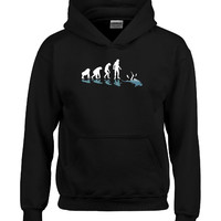 Scuba Diving Evolution Great Gift For Any Diving Fan - Hoodie