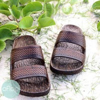 Brown Jon Jandals ® - Pali Hawaii Hawaiian Jesus Sandals