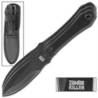 ZOMBIE KILLER 3 PIECE THROWING KNIVES CUTTHROAT