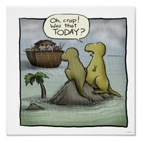 Shoebox Dinosaurs Posters from Zazzle.com