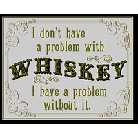 Problem with Whiskey Wood Sign