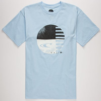 O'neill Mystic Mens T-Shirt Light Blue  In Sizes