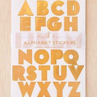 Meri Meri Holographic Alphabet Stickers Set