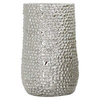 "Barnacle Vase - Chrome 10"" by Torre & Tagus"
