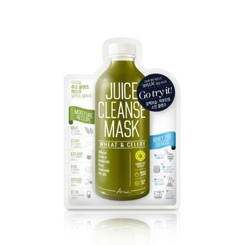 Wheat & Celery Juice Cleanse Mask