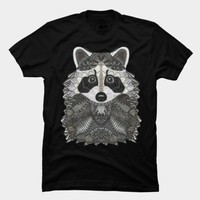 Ornate Raccoon T Shirt By Myartlovepassion Design By Humans