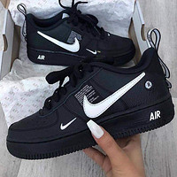 NIKE AIR FORCE 1 AF1 OW Running Sport Shoes Sneakers