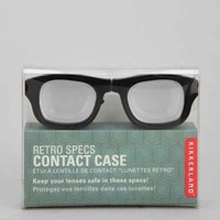 Retro Contact Lens Case- Black & White One