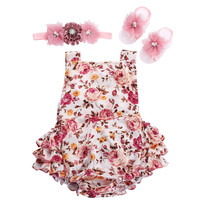2016 summer spring children clothing in lots sunsuit baby wear baby girl Onesuit bebe boutique jumpsuit baby girls clothes #L111