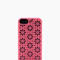 perforated flowers iphone 5 case