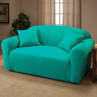 Madison Home Stretch Jersey Loveseat Slipcover | Wayfair