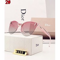 Dior Trending Women Men Stylish Shades Eyeglasses Glasses Sunglasses