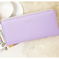 Women wallet in candy colors