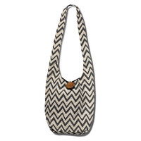 JOYN Chevron Hippy Bag