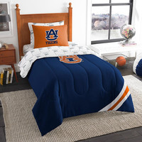 Auburn Tigers NCAA Bed in a Bag (Contrast Series)(Twin)