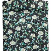 Floral-print duvet cover set - Black/Green - Home All | H&M GB