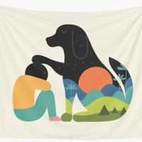 'The Best Is Yet To Come' Wall Tapestry by AndyWestface