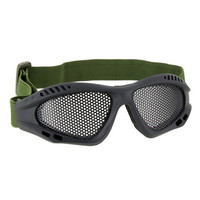 Steel Mesh Protective Goggles for Airsoft (Black)