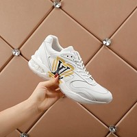lv louis vuitton womans mens 2020 new fashion casual shoes sneaker sport running shoes 334