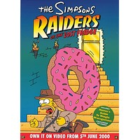 The Simpsons Raiders of the Lost Fridge Poster 20x28