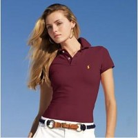 Beauty Ticks Ralph Lauren Polo Women Solides Polo Wrlpp059