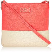 kate spade new york Grove Court Cora Cross-Body Bag,Dark Geranium/Raw Almond,One Size