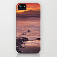 Reflections on the sand iPhone & iPod Case by Guido Montañés