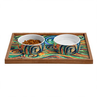Lisa Argyropoulos Blue Moon Pet Bowl and Tray