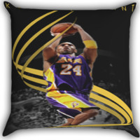 kobe bryant shoot Zippered Pillows  Covers 16x16, 18x18, 20x20 Inches