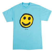 Odd Future Smiley Face Anti Golf Blue T-Shirt