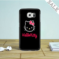 cute hello kitty Samsung Galaxy S6 Edge Case