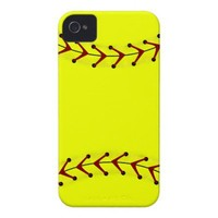 Fastpitch Softball Fashions Case-Mate iPhone 4 Cases from Zazzle.com