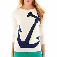 jcp™ Anchor Sweater