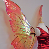 Giant Clarion Painted Fairy Wings in your choice of colors