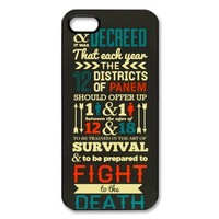 The Hunger Games: Catching Fire iPhone 5 5S Best Durable Cover Case