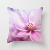 LILAC Throw Pillow by VIAINA