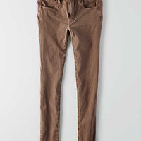 AEO Sateen X4 Jegging, Taupe
