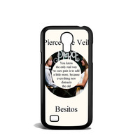 Pierce The Veil Song Lyrics Band Samsung Galaxy S4 Mini Case