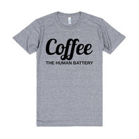 COFFEE THE HUMAN BATTERY