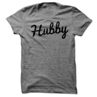 Hubby (2/2 Wifey - Hubby Couples Shirts)