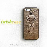 Han Solo Frozen Star Wars iPhone 5 5S 5C Case Cover