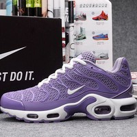 Nike TN Women Purple Sport Sneaker Shoe