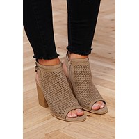 Camillia Booties (Light Taupe)